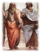 Image result for افلاطون و ارسطو